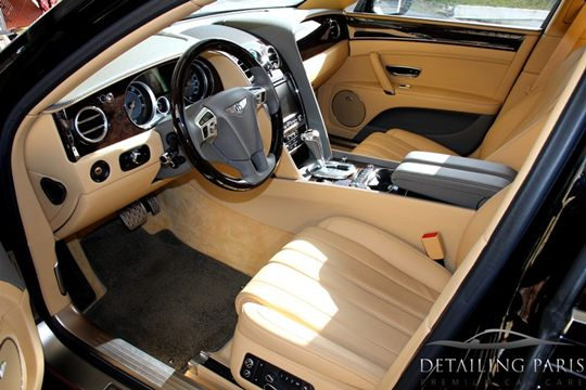 bentley flying spur detailing paris. Black Bedroom Furniture Sets. Home Design Ideas